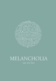 Melancholia (2011) ~ Minimal Movie Poster by Zoki Cardula #amusementphile