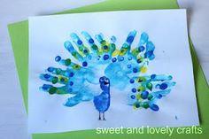 handprint art projects for kids!