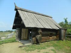 Как построить дом из нескольких бревен? дом, экстерьер, оригинально
