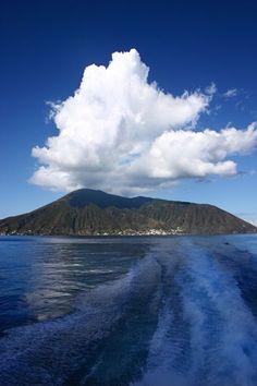 Salina, Eolian islands, north of Siciliy, Italy