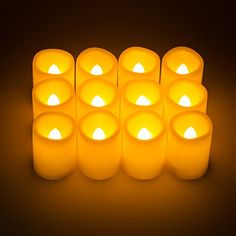 Kohree Timer Votive Flameless Candles, Unscented Battery Operated Candles, 5-Hours-Cycle Timer, Set of 12 LED Pillar Candles ** CONTINUE @ http://www.laminatepanel.com/store/kohree-timer-votive-flameless-candles-unscented-battery-operated-candles-5-hours-cycle-timer-set-of-12-led-pillar-candles/?b=9494