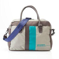 Sac Duffle bag bicolore Bensimon