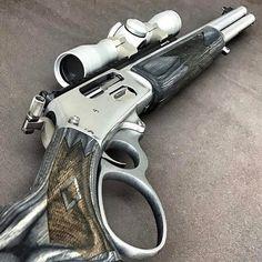 It's just beautiful.and it will bring down a T-Rex. Weapons Guns, Guns And Ammo, Custom Guns, Hunting Rifles, Cool Guns, Firearms, Shotguns, Revolvers, T Rex