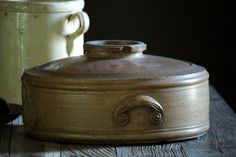 Antique Victorian English Salt-Glazed Stoneware WATER Purifier / from eantiques on Ruby Lane