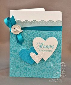 Happy Anniversary by jessjean - Cards and Paper Crafts at Splitcoaststampers