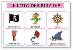 Dessine-moi une histoire, Ressources pédagogiques et jeux pour la maternelle… Pirate Invasion, Fall Patterns, Pirate Party, Bingo, Diy For Kids, Kids Learning, Ocean, Animation, Activities
