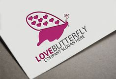 Butterfly Love by josuf on Creative Market