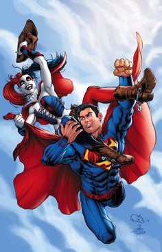 Action Comics #39 Harley Quinn Variant Cover by Nicola Scott & Danny Miki
