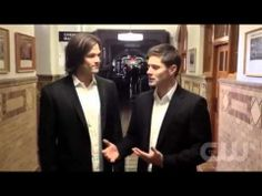 Supernatural   Cast Message for People's Choice Awards