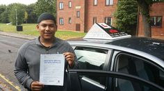 Confident learner, Mahboob Chowdhury has successfully passed his driving test today at Shirley test center. A great result. Congratulations from Msmotoring Adi Maruf Ahmed