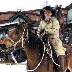 Rider at Steamboat Springs Winter Carnival © 2017 Skijor International, LLC