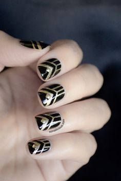 art deco nails - Buscar con Google