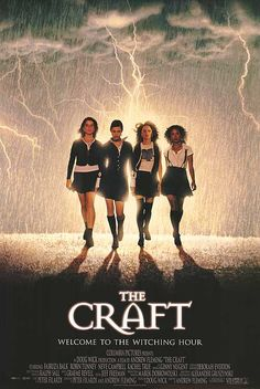 The Craft characters for 90s movie theme