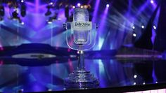 The wonderful and glorious Trophy of the Eurovision Song Contest 2013 in Malmö, Sweden