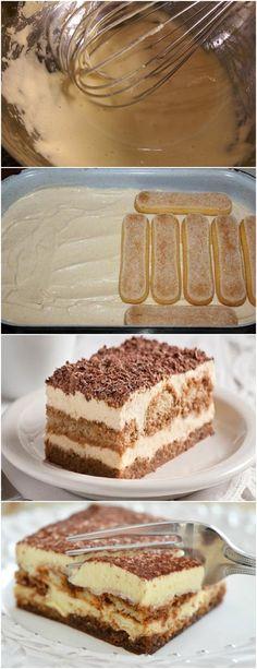 ESSA É UMA RECEITA MUITO ESPECIAL E DELICIOSA !!(Tiramisù) VEJA AQUI>>>Separe as gemas e as claras dos ovos. Bata as gemas com o açúcar até obter um creme esbranquiçado. #receita#bolo#torta#doce#sobremesa#aniversario#pudim#mousse#pave#Cheesecake#chocolate#confeitaria