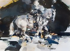Pascale Chandler: Equestrian Dawn | StateoftheART Master Chief, Equestrian, Dawn, Original Artwork, Canvas, Gallery, Painting, Fictional Characters, Tela