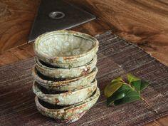 木灰釉あわび小鉢 | 和食器通販|ガラス
