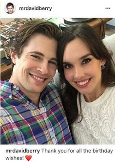 David Berry and his wife