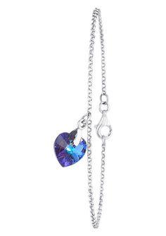 Elli Armband, »0204591112, Fee«.  Aus Silber 925, rhodiniert, verziert mit Swarovski®-Kristallen. Ca. 18 cm lang, ca. 19 cm lang und ca. 20 cm lang.  Lieferung in einer ELLI-Verpackung....
