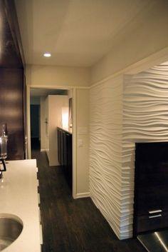 Textured gypsum wall board <3