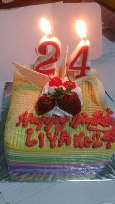 My 24th cake!