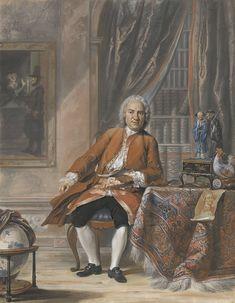 Portret van Joan Jacob Mauricius, gouverneur-generaal van Suriname, dichter en toneelminnaar, Cornelis Troost, 1741