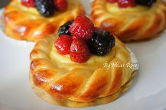 莓果卡士達麵包食譜、作法 | 玫瑰小姐的多多開伙食譜分享