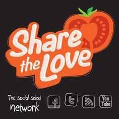 #lovemysalad #logo #branding #illustration