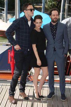 Nicholas Hoult, Kristen Stewart and Drake Doremus
