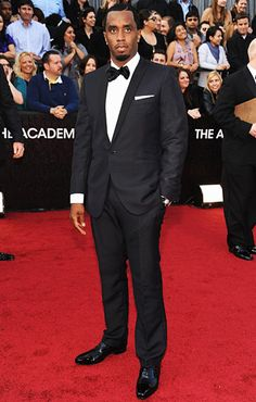 P. Diddy on the red carpet at the 2012 Oscars in Hollywood
