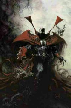 Spawn by Greg Capullo Marvel Comics, Spawn Comics, Bd Comics, Anime Comics, Marvel Art, Marvel Avengers, Comic Book Characters, Comic Book Heroes, Comic Character