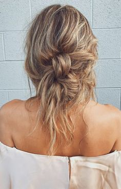 double knotted buns