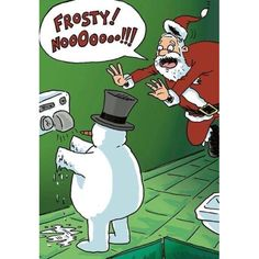 Frosty learns about the states of matter