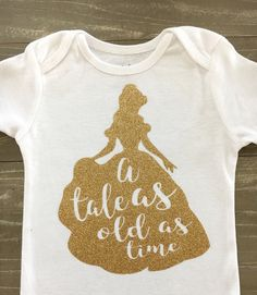 A Tale As Old As Time- Belle Birthday, Beauty & The Beast  Birthday, Disney Birthday Party, Disney Birthday Trip, Beauty and Beast  Top by MiaMiniBoutique on Etsy