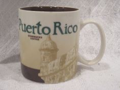 Starbucks Coffee Cup Mug Puerto Rico 16 oz 2013 New | eBay