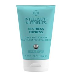 Certified Organic Destress Express Dry Skin Therapy by Intelligent Nutrients. Targets dry, cracked skin.