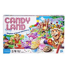 Candy Land Kingdom of Sweet Adventures Game for Kids Ages is a toy our 6 year old girl loves to play with. These are super popular toys!