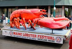 Celebrate New England's favorite crustacean at the Maine Lobster Festival.