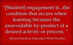 ASCD author Myron Dueck provides student engagement strategies on Education Week Teacher.