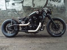 Honda VT 600 bobber custom steed shadow