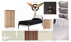 Create a boys room with character #hotlooks