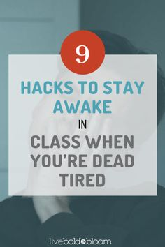 You were up late last night — either plugging away at your homework or trying to make the day feel longer. Maybe you just wanted the day to end with something other than work or school. But now you're Staying Awake Tips, How To Stay Awake, How To Stay Motivated, Behavioral Psychology, Psychology Facts, Personality Types Meyers Briggs, Self Development, Personal Development, Mentally Strong