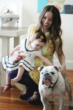 Naomi from the Rockstar Diaries looking beautiful in MoM Paige wrap dress