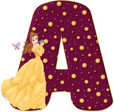 Alphabet Letters Design, Alphabet Style, Beauty And The Beast Party, Belle Beauty And The Beast, Cool Lettering, Lettering Design, Quilling Letters, Mickey Mouse Art, Minnie Png