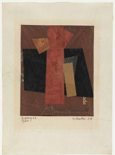 Kurt Schwitters. Drawing A2: Hansi. 1918