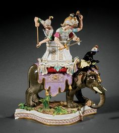 Meissen Porcelain Figural Group : Lot 822