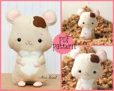 PDF Pattern. Hamster                                                                                                                                                                                 Mais