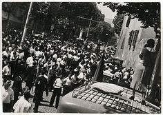 Margaret MICHAELIS Austria 1902 – Australia 1985 Movements: Australia from 1939 The funeral of Durutti, Barcelona 1936  [The funeral of Durutti, Barcelona 1936. La guerra civil] 1936 gelatin silver photograph (glossy paper) image 11.9 h x 16.9 w cm  Gift of the estate of Margaret Michaelis-Sachs 1986 Accession No: NGA 86.1384.12 Barcelona, Funeral, Austria, Dolores Park, Gelatin, Concert, Photograph, Travel, Image