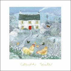 Charity #Christmas card in aid of @wateraid by #LucyGrossmith