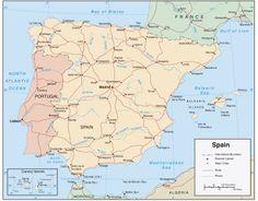 Editor audiovisuals el templat: Mapas vector, España y USA, adobe illustrator